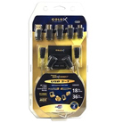 36in & 18in GoldX PlusSeries QuickConnect GXQU-05 USB 2.0 5-in-1 Cable Kit -