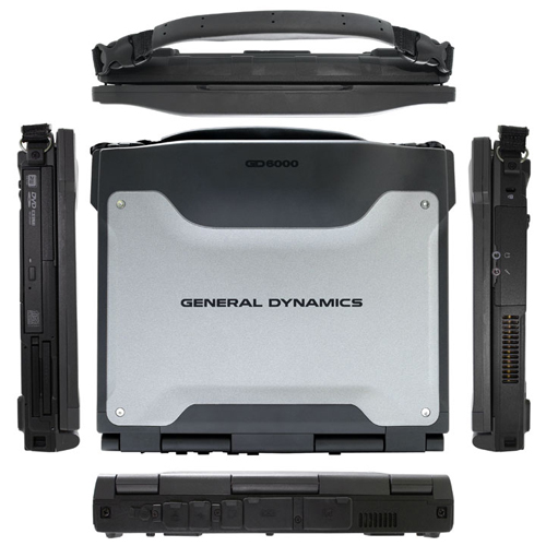 General Dynamics Itronix GD6000 Rugged Notebook